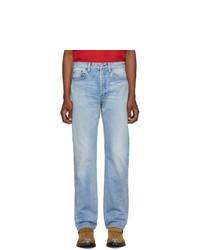 Balenciaga Blue Organic Vintage Standard Jeans