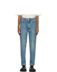 Balenciaga Blue Regular Denim Jeans
