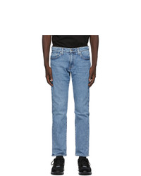 Levis Made and Crafted Blue Selvedge 511 Slim Jeans
