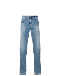 Department 5 Distressed Straight Leg Jeans