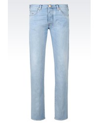 Emporio Armani Slim Fit Light Wash Jeans