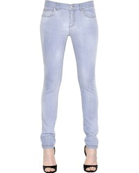 Givenchy Washed Stretch Cotton Denim Jeans