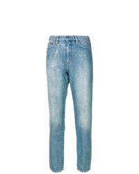 Mira Mikati High Rise Glitter Jeans