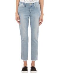 Frame Denim High Straight Jeans Blue