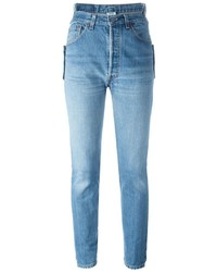 Vetements High Waist Slim Jeans