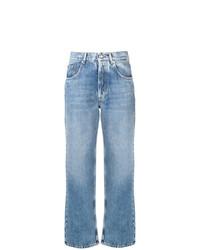Maison Margiela High Waist Straight Leg Jeans