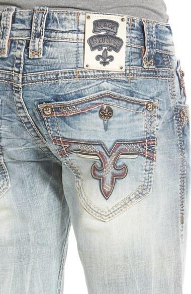 Rock Revival Ignacio J2 Straight Leg Jeans 169 Nordstrom Lookastic