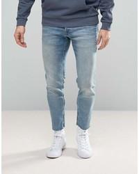 Jack and Jones Jack Jones Intelligence Jeans In Slim Fit With Raw Hem 089d038d86