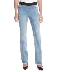 Karen Kane Pull On Stretch Bootcut Jeans
