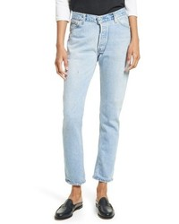 Reconstructed relaxed straight jeans medium 3747155