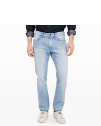 Club Monaco Slim Fit Bleach Wash Jean