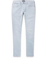Tom Ford Slim Fit Washed Stretch Denim Jeans