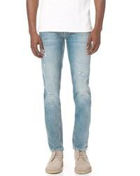 Current/Elliott Slim Straight Fit Jeans