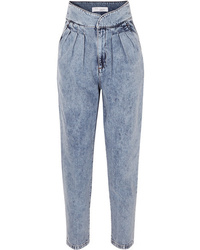 IRO Staunch Pleated High Rise Tapered Jeans
