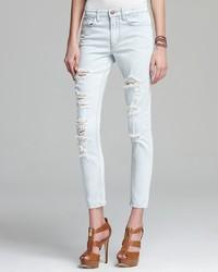 Joe's Jeans The Nessa High Water In Light Blue