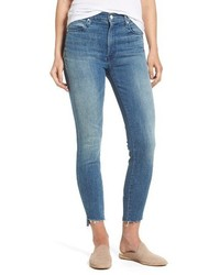 The stunner high rise ankle fray jeans medium 4015174