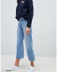 Tommy Hilfiger Tommy X Love Cropped Wide Leg Jeans