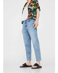 Mango Wave Straigh Crop Jeans