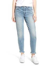 Levi's Wedgie Icon Fit Raw Hem Jeans