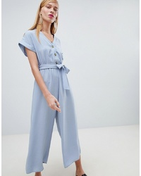 d8967defd60 New Look Floral Printed Cheesecloth Playsuit Pattern Out of stock · New Look  Button Through Culotte Jumpsuit