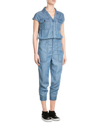 Chambray jumpsuit medium 3758766