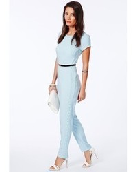Womens Light Blue Jumpsuits By Missguided Womens Fashion