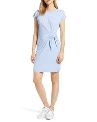 Vineyard Vines Sankaty Side Tie Stretch Knit Dress