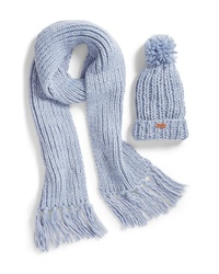 Barbour Chunky Knit Hat Scarf Set