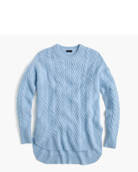 Light Blue Cable Sweaters for Women | Women's Fashion