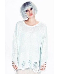 Star clouds lennon sweater in ice cold medium 131888