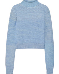 The Elder Statesman Distressed Cashmere Sweater