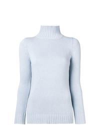 Aragona Ribbed Turtleneck Sweater
