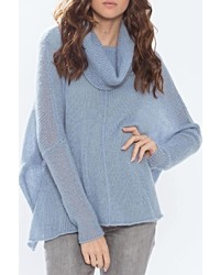 Seamed cowl pullover medium 449414