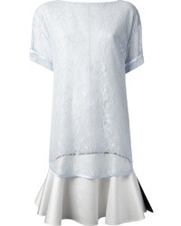 Givenchy Floral Lace T Shirt Dress