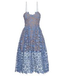 c6394e70a99 Women s Light Blue Lace Midi Dresses from MATCHESFASHION.COM ...