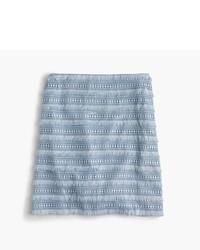 J.Crew Mini Skirt In Fringy Lace