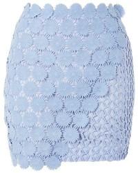 Wrap lace mini skirt medium 5028648