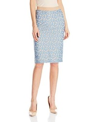 BCBGMAXAZRIA Bess Lace Pencil Skirt