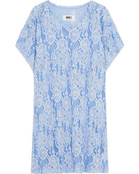 Chenille lace dress sky blue medium 431729