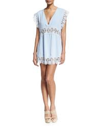 Suboo stevie lace insert mini dress medium 431730