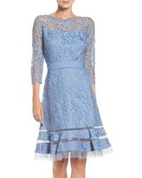 Tadashi Shoji Lace Overlay Dress
