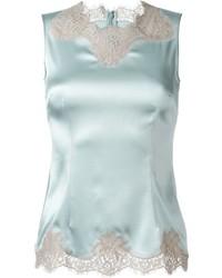 Dolce & Gabbana Lace Detail Tank Top