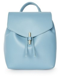 Blake mini faux leather backpack blue medium 4913203