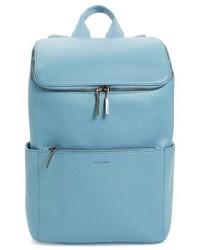 Brave faux leather backpack blue medium 3752596