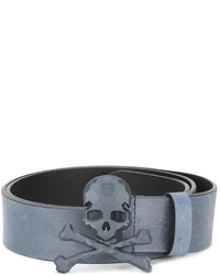 Philipp Plein Skull And Crossbones Belt