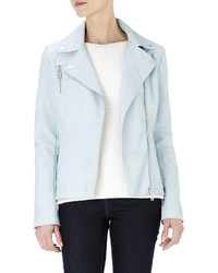 Wallis Blue Biker Jacket