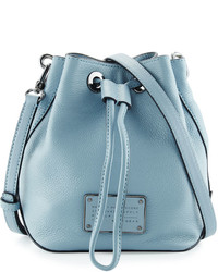 Marc by Marc Jacobs New Too Hot To Handle Bucket Bag Ice Blue