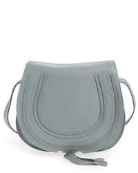 Chloe marcie medium leather crossbody bag white medium 3752578