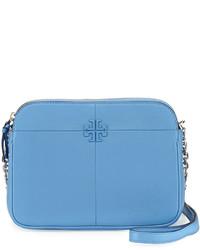 7706145e5923 ... Tory Burch Ivy Leather Crossbody Bag Montego Blue ...