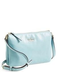 Light Blue Leather Crossbody Bag: Kate Spade New York Ivy Place ...